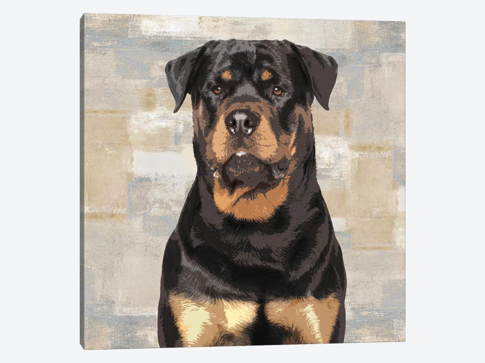 Rottweiler by Keri Rodgers 1-piece Art Print