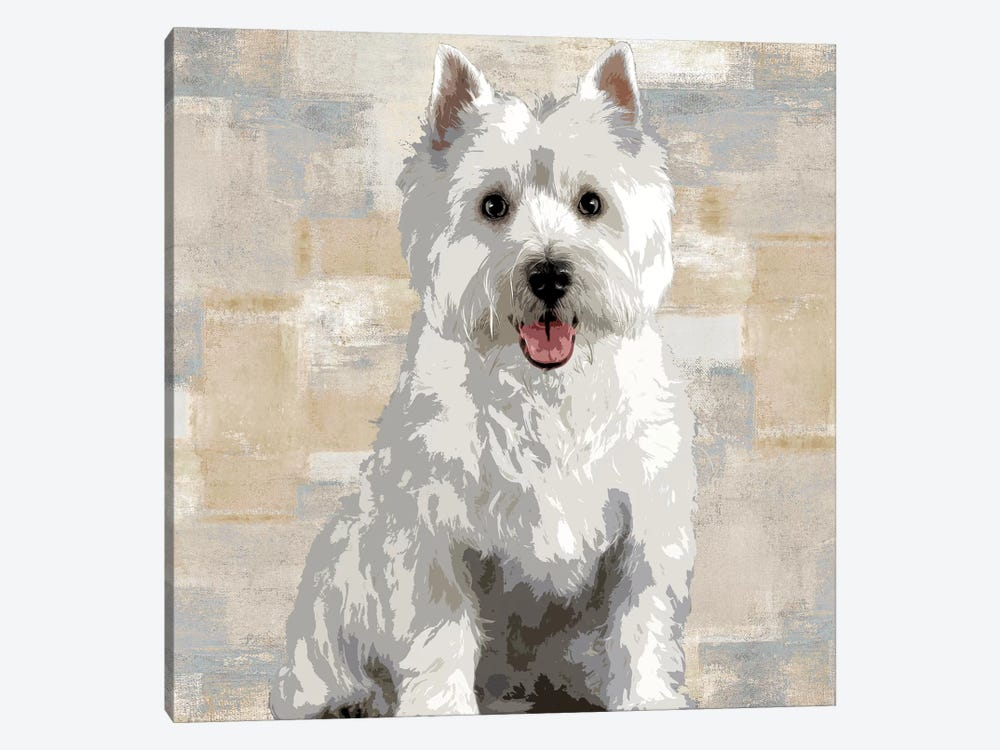 West Highland White Terrier by Keri Rodgers 1-piece Canvas Print