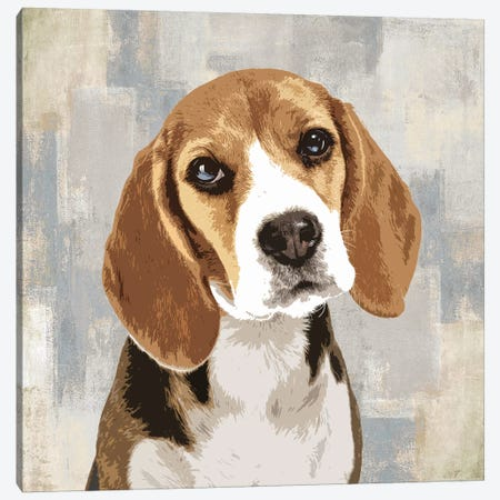 Beagle Canvas Print #KRO1} by Keri Rodgers Canvas Art Print