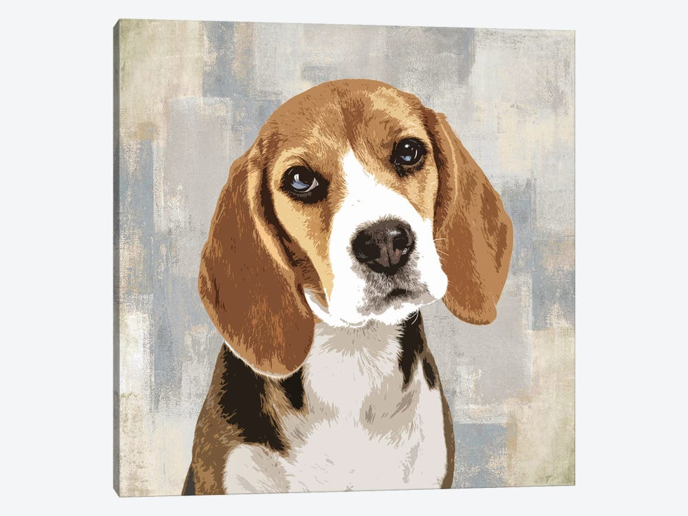 Beagle by Keri Rodgers 1-piece Canvas Artwork