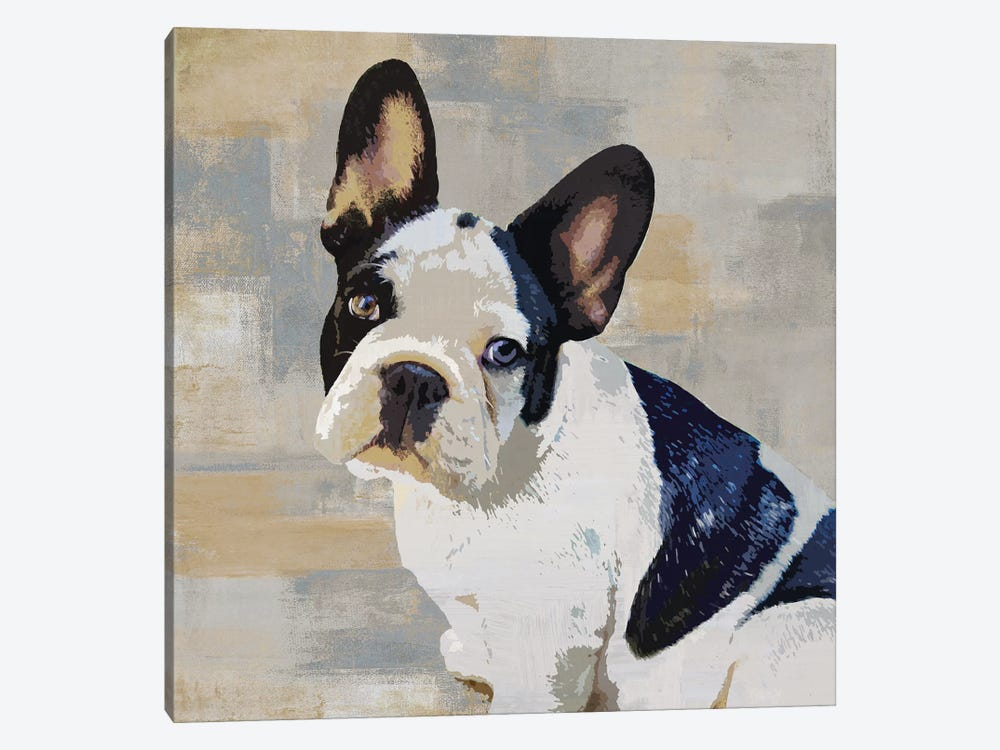 French Bulldog by Keri Rodgers 1-piece Canvas Artwork