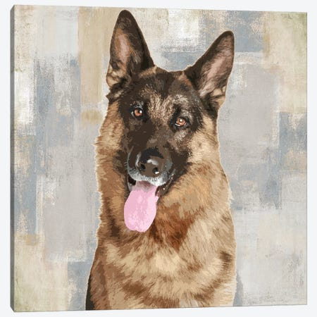 German Shepherd Canvas Print #KRO6} by Keri Rodgers Canvas Artwork