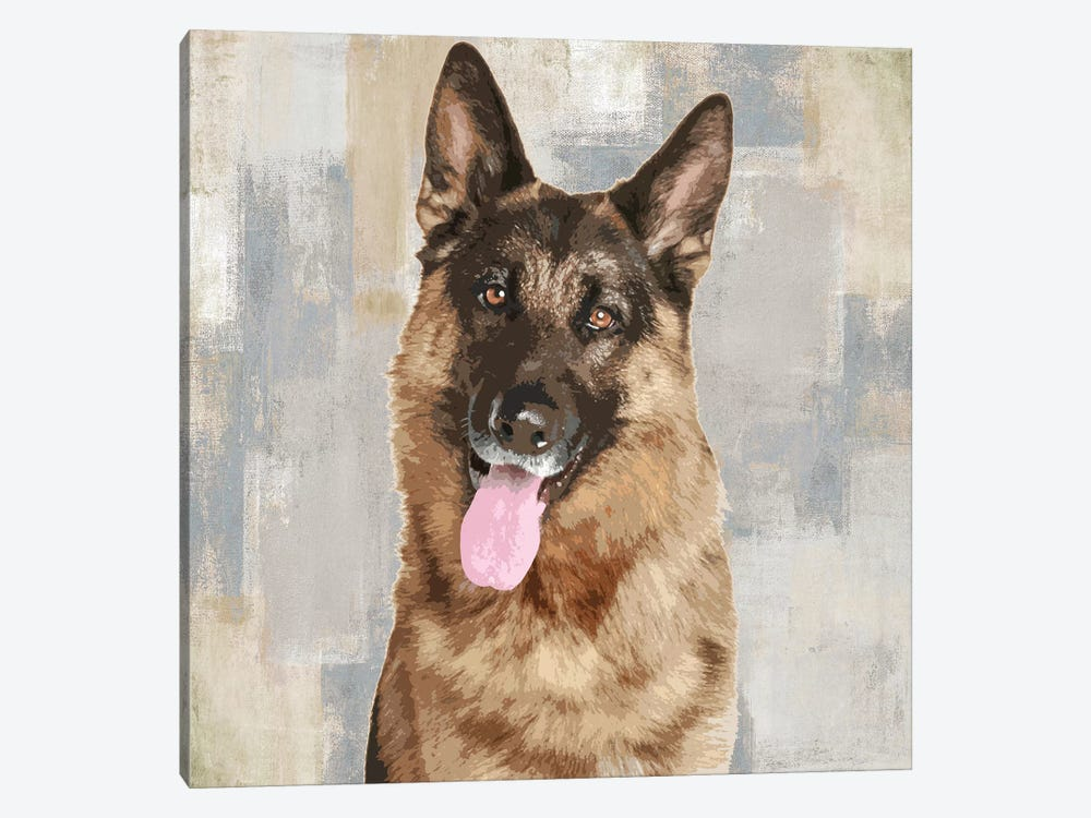 German Shepherd by Keri Rodgers 1-piece Art Print