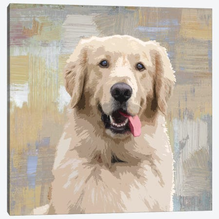 Golden Retriever Canvas Print #KRO7} by Keri Rodgers Canvas Art