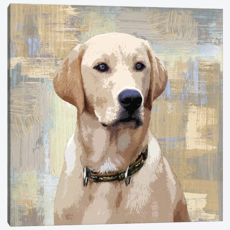 Labrador Retriever Canvas Print #KRO8} by Keri Rodgers Art Print