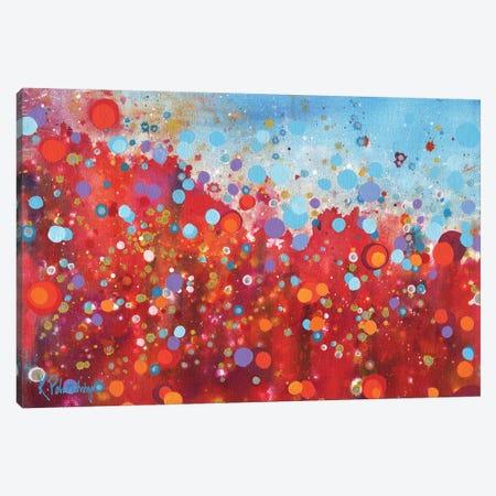 Fireflies Canvas Print #KRP10} by Kristen Pobatschnig Canvas Art Print