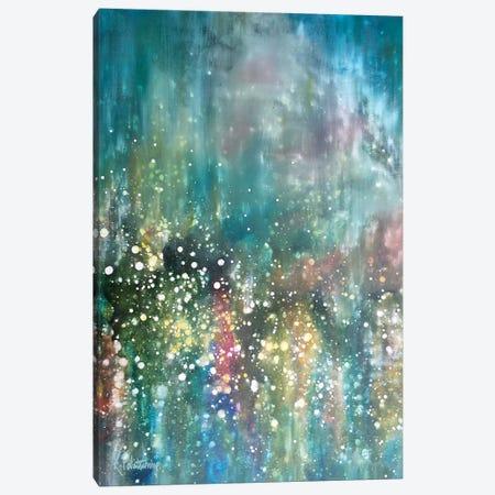 In Rainbows Canvas Print #KRP13} by Kristen Pobatschnig Art Print