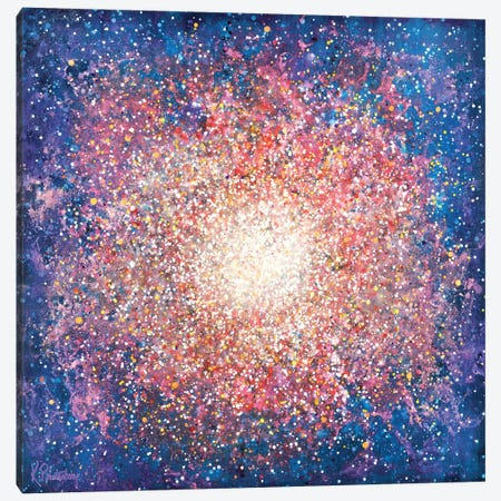 Messier 15 Canvas Print #KRP15} by Kristen Pobatschnig Canvas Artwork