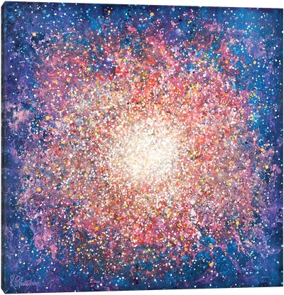 Messier 15 Canvas Art Print
