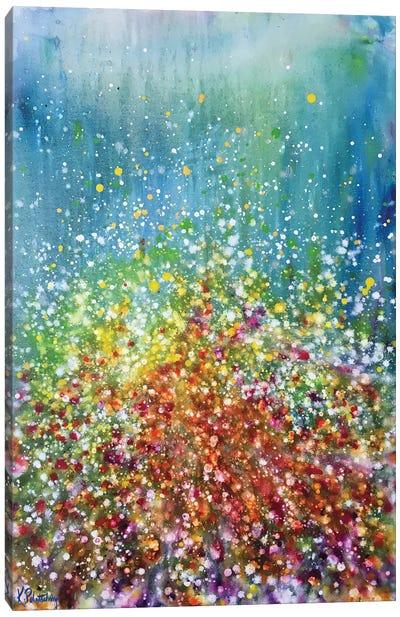 Poppies Outside Emerald City Canvas Art Print
