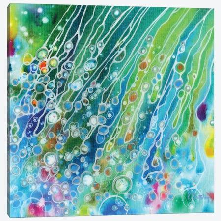 Rainbow Sprinkles Canvas Print #KRP19} by Kristen Pobatschnig Art Print