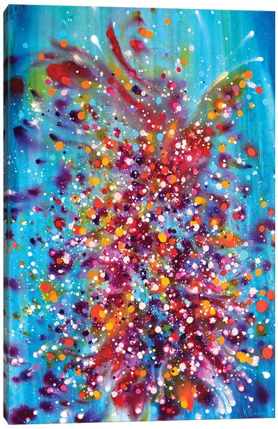 A Dance Between Time And Space Canvas Art Print