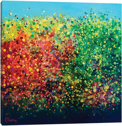 Sounds Of Autumn Canvas Art Print
