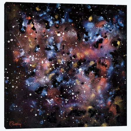 Stars I Canvas Print #KRP25} by Kristen Pobatschnig Canvas Art Print