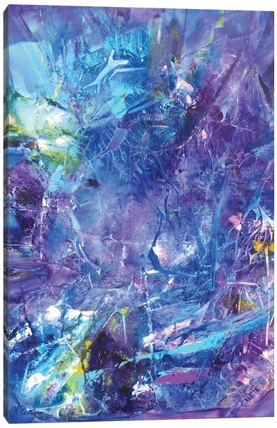 Ultra Violet Canvas Art Print