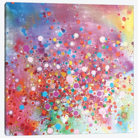 Whir Of Excitement Canvas Print #KRP34} by Kristen Pobatschnig Canvas Art