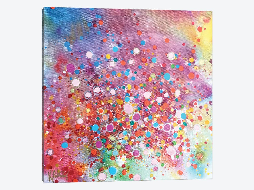 Whir Of Excitement by Kristen Pobatschnig 1-piece Canvas Art