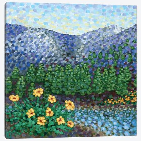 Mountain High Canvas Print #KRP37} by Kristen Pobatschnig Canvas Art
