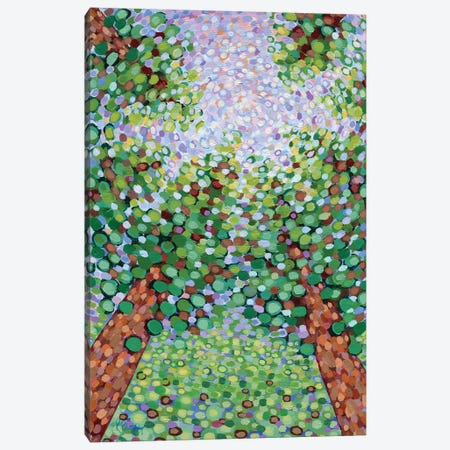 Under The Tall Pines Canvas Print #KRP39} by Kristen Pobatschnig Art Print