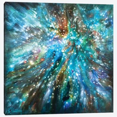 Below The Surface Canvas Print #KRP4} by Kristen Pobatschnig Canvas Wall Art