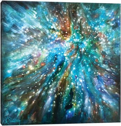 Below The Surface Canvas Art Print