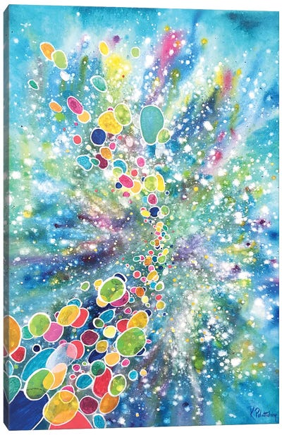 Cosmic Journey Canvas Art Print