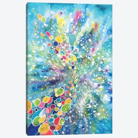 Cosmic Journey Canvas Print #KRP6} by Kristen Pobatschnig Canvas Wall Art