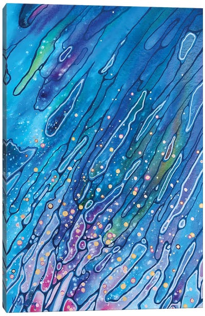 Cosmic Wash Canvas Art Print