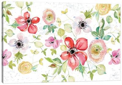 Spray of Anemones I Canvas Art Print