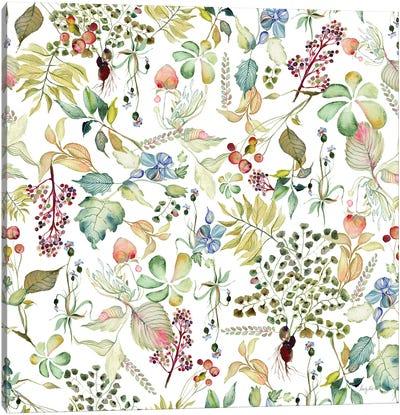 Botticelli Plants I Canvas Art Print