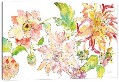 Dahlia Delight of the Day I Canvas Art Print