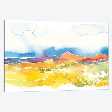 Mesa View I Canvas Print #KRR34} by Kristy Rice Canvas Wall Art
