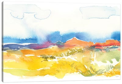 Mesa View I Canvas Art Print