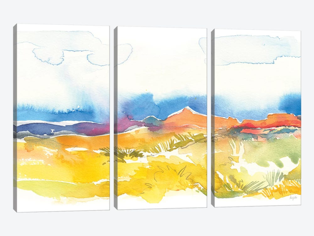 Mesa View I by Kristy Rice 3-piece Art Print