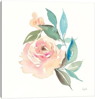 Watercolor Blossom II Canvas Art Print
