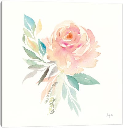 Watercolor Blossom III Canvas Art Print