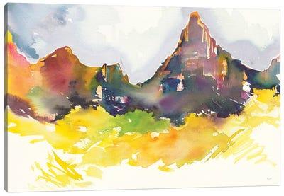 Western Slope Canvas Art Print