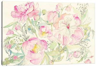 Peony Garden Canvas Art Print
