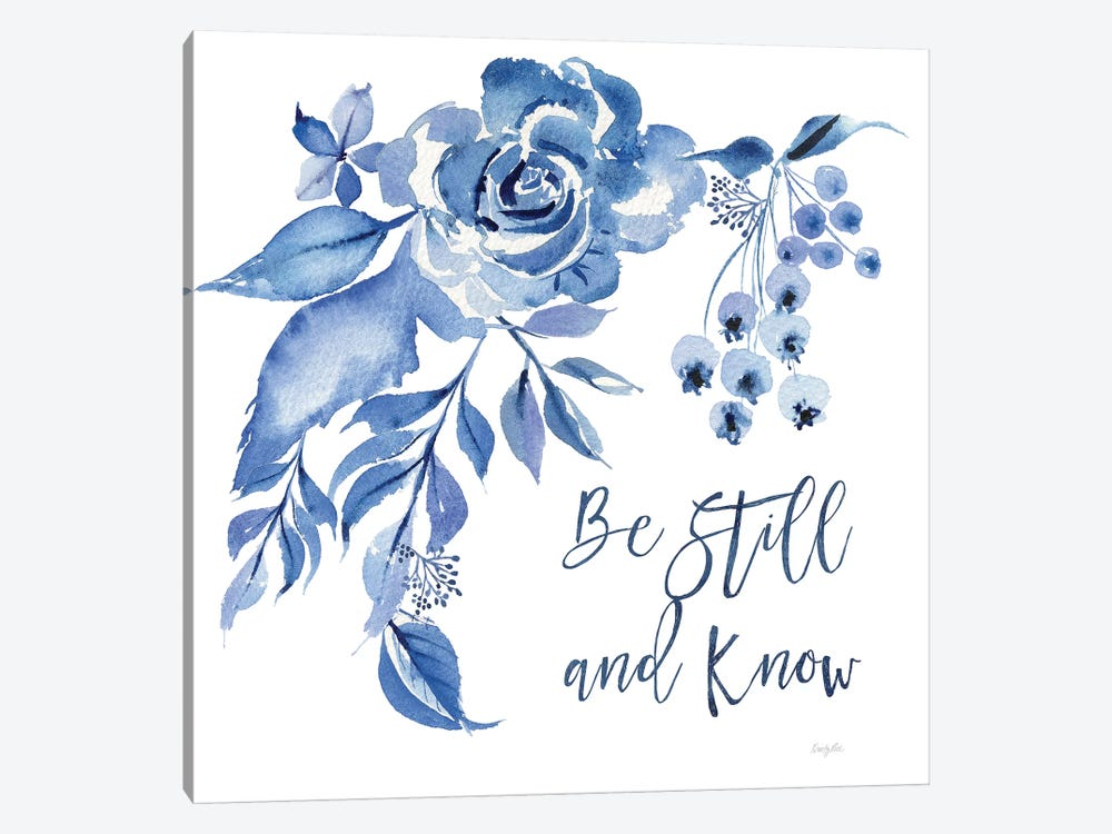 Delft Delight I Know by Kristy Rice 1-piece Art Print