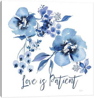 Delft Delight II Patient Canvas Art Print