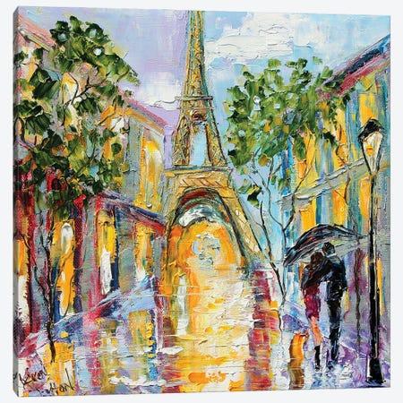 Paris Memory Canvas Print #KRT106} by Karen Tarlton Canvas Artwork