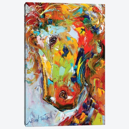 Portrait Of A Horse Canvas Print #KRT116} by Karen Tarlton Canvas Print