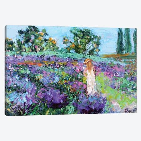 Provence Lavender Canvas Print #KRT118} by Karen Tarlton Canvas Artwork