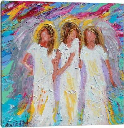Angel Friends Canvas Art Print