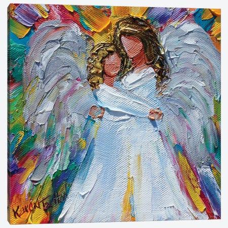 Angel Hugs Canvas Print #KRT12} by Karen Tarlton Canvas Art Print