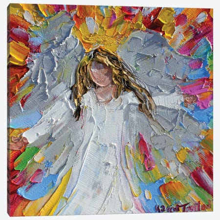 Angel Joy Canvas Print #KRT14} by Karen Tarlton Canvas Wall Art