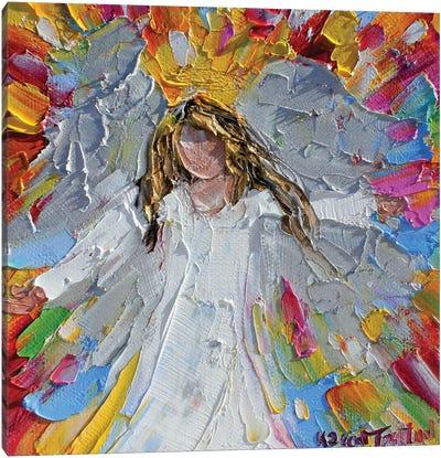 Angel Joy Canvas Art Print