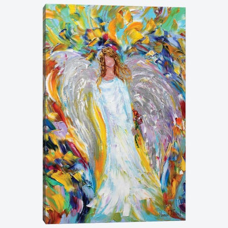 Angel Love Canvas Print #KRT15} by Karen Tarlton Canvas Artwork