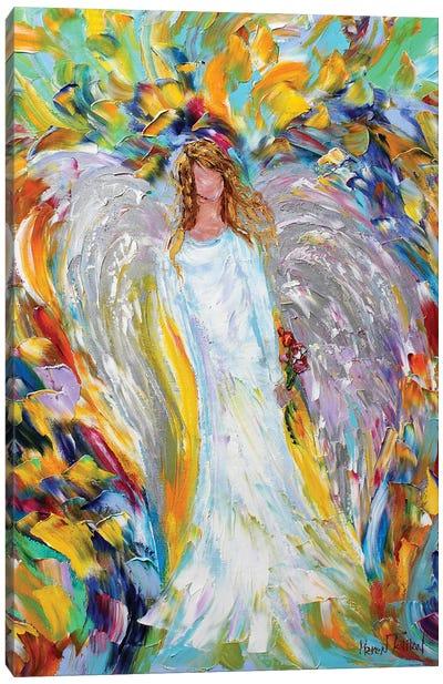 Angel Love Canvas Art Print