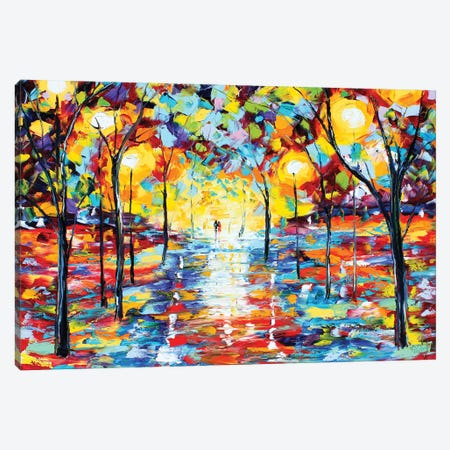 Warm Glow Of Night Giclee Native Resolution Canvas Print #KRT166} by Karen Tarlton Canvas Artwork